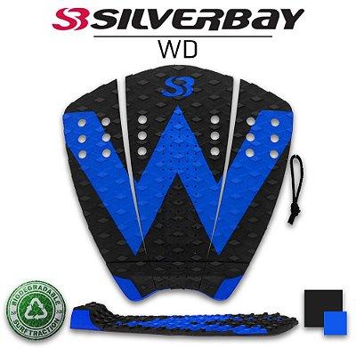 Deck Surf Silverbay WD - Signature Wiggolly Dantas - Preto/Azul