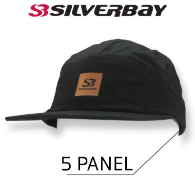 Boné Silverbay Five Panel  - Preto