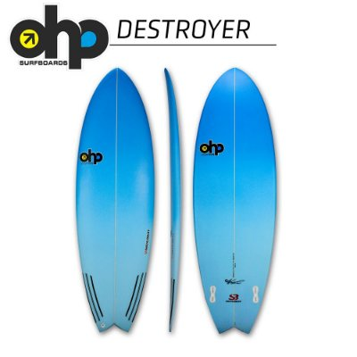 Prancha OHP DESTROYER - 5'8 x 29 9/16 x 2 5/8 x 32,3L