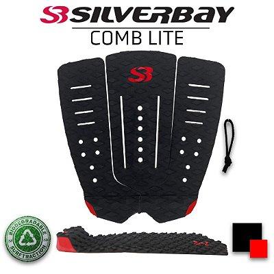 Deck Surf SILVERBAY COMB LITE - Preto/Vermelho