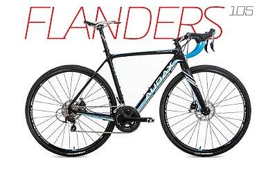 Bicicleta Audax Flanders 105 Ciclocross 2017
