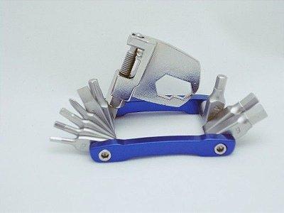 Ferramenta Canivete Mini Max Tools 13 funções