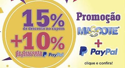 Promoção Mascote Pay Pal