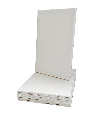 Tela para Pintura Promocional 20X30 (100 peças) (Grampeada na lateral)