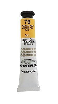 Tinta Oleo Corfix 20ml 76 Amarelo Pele