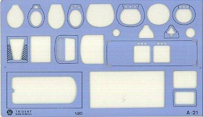 Gabarito Arquitetura Sanitários A-21