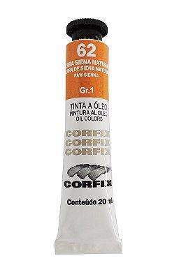 Tinta Oleo Corfix 20ml 62 Terra Siena Natural