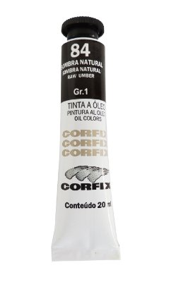 Tinta Oleo Corfix 20ml 84 Sombra Natural