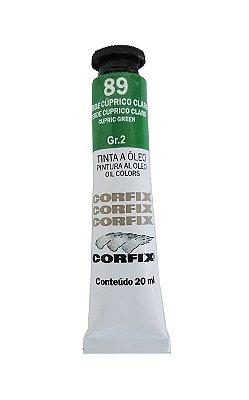 Tinta Oleo Corfix 20ml 89 Verde Cúprico Claro Grupo 2