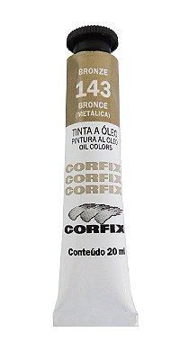 Tinta Oleo Corfix 20ml 143 Bronze Metálico