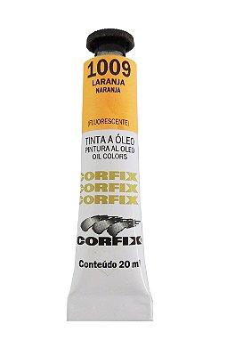 Tinta Oleo Corfix 20ml 1009 Laranja Fluorescente