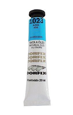 Tinta Oleo Corfix 20ml 1023 Azul Fluorescente