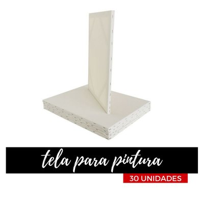 Telas Para Pintura Promocional 30x30 (30 unidades)