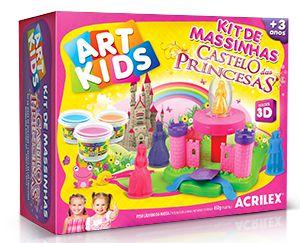 Kit de Massinhas - Castelo das Princesas