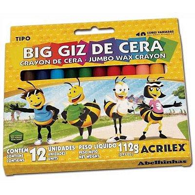 Big Giz de Cera - 12 Cores