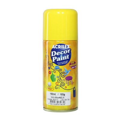 Decor Paint Spray 522 Amarelo - 150ml
