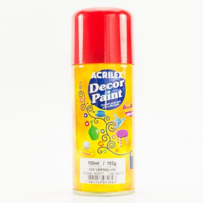 Decor Paint Spray 523 Vermelho - 150ml