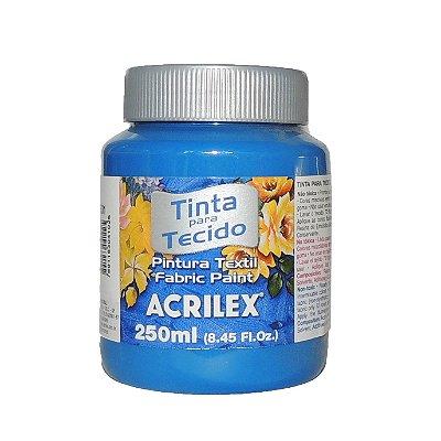 Tinta Para Tecido Acrilex 250ML - 501 Azul Turquesa
