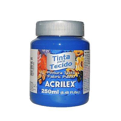 Tinta Para Tecido Acrilex 250ML - 502 Azul Cobalto