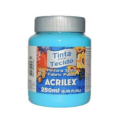 Tinta Para Tecido Acrilex 250ML - 503 Azul Celeste