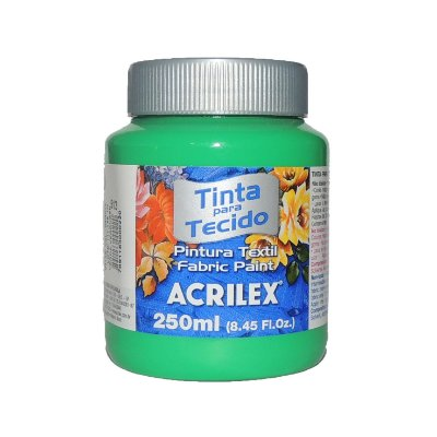 Tinta Para Tecido Acrilex 250ML - 512 Verde Veronese
