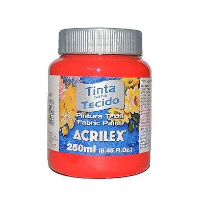 Tinta Para Tecido Acrilex 250ML - 541 Vermelho Vivo