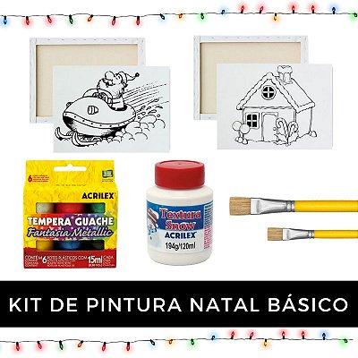 Kit de Pintura - Natal Básico