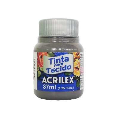 Tinta para Tecido Acrilex 37ml 933 Cinza