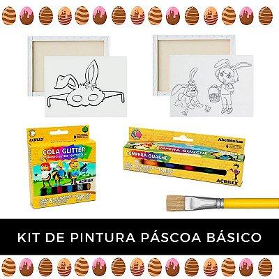 Kit de Pintura - Páscoa Básico