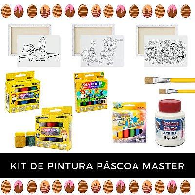 Kit de Pintura - Páscoa Master