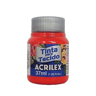 Tinta para Tecido Acrilex 37ml 541 Vermelho Vivo