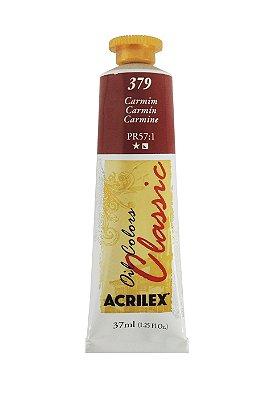 Tinta Oleo Acrilex 37ML 379 - Carmim