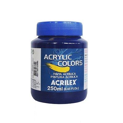 Tinta Acrilica Acrilex 250ml Grupo 1-348 Ultramar Claro
