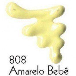 Tinta Dimensional Brilhante 35 ml - 808- Amarelo Bebe