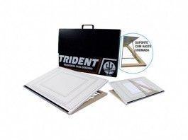 Prancheta Portátil Quadriculada c/Inclinação A3 Trident 8506