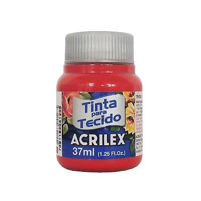 Tinta para Tecido Acrilex 37ml 508 Vermelho Escarlate