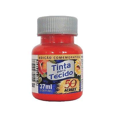 Tinta para Tecido Acrilex 37ml 507 Vermelho Fogo