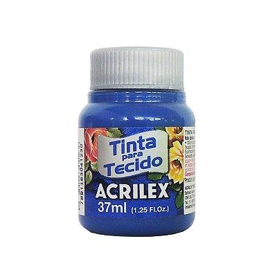 Tinta para Tecido Acrilex 37ml 502 Azul Cobalto