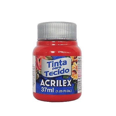 Tinta para Tecido Acrilex 37ml 805 Goiaba Queimada