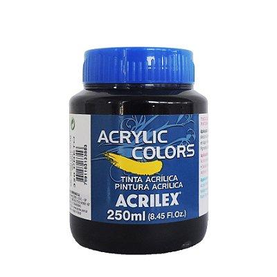 Tinta Acrilica Acrilex 250ml Grupo 1 320 - Preto