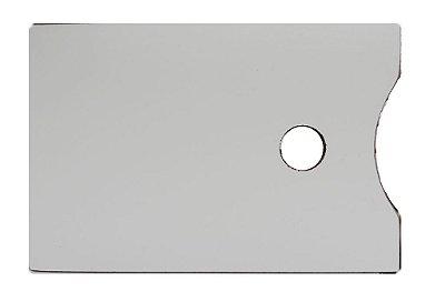Paleta Para pintura Artística - Retangular 20X30 CM