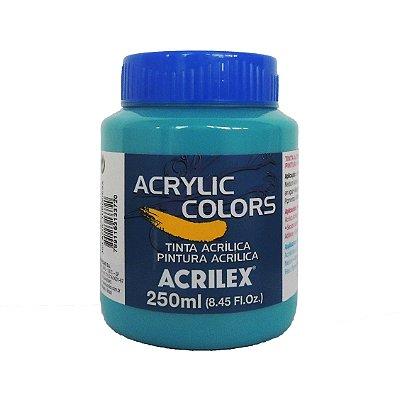 Tinta Acrilica Acrilex 250ml Grupo 1 363 - Azul Turquesa
