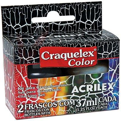 Craquelex Color (KIT) Vermelho Carmim 509