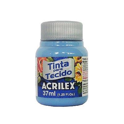Tinta para Tecido Acrilex 37ml 560 Azul Caribe