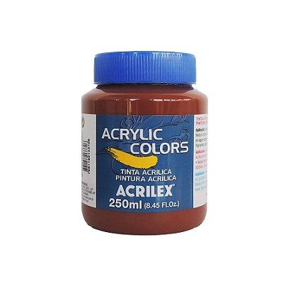 Tinta Acrilica Acrilex 250ml Grupo 2 357 - Terra de Siena Queimada