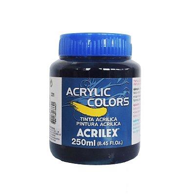 Tinta Acrilica Acrilex 250ml Grupo 1 331 - Azul da Prussia