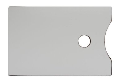 Paleta Para Pintura Artística - Retangular 24X35 CM