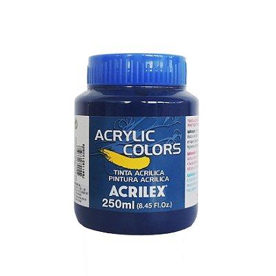 Tinta Acrilica Acrilex 250ml Grupo 1 305 - Azul Fitalocianina