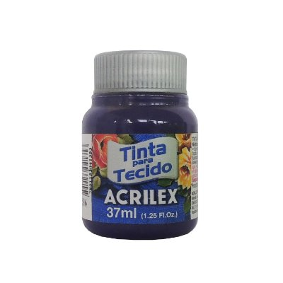 Tinta para Tecido Acrilex 37ml 516 Violeta