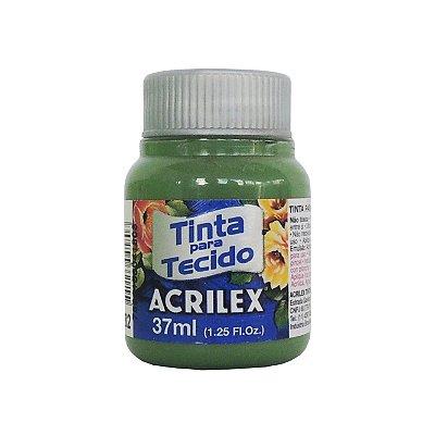 Tinta para Tecido Acrilex 37ml 582 Verde Grama